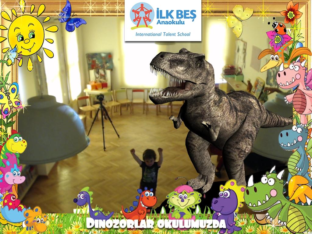 Dinozorlar Okulumuzda